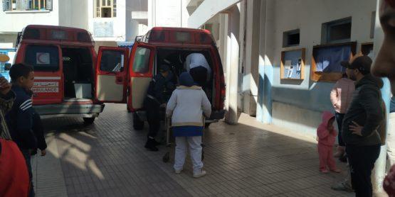 """ستة مصابين في حادث طرقي ب """" كارسيا """" بين القصر الكبير والعرائش"""