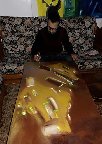 قراءة في تجربة الفنان والباحث محمد الشاوي
