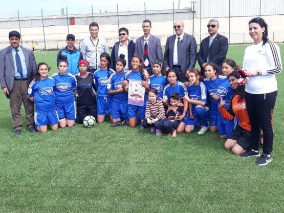 فتيات كرة القدم لمديرية العرائش يتأهلن للمقابلة النهائية