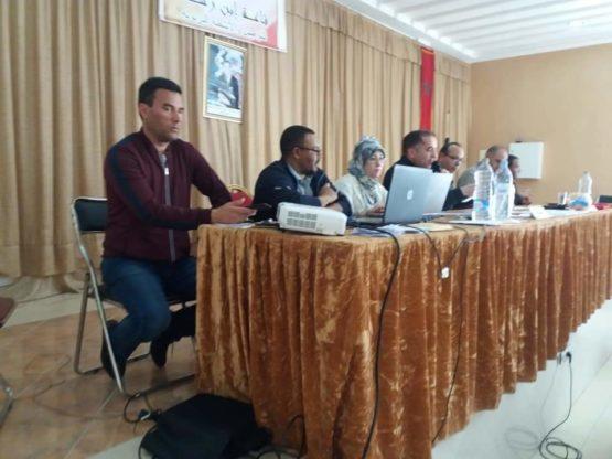 جمعية الانبعاث تنظم المرحلة الأولى من المسابقة الثقافية 21 بين الإعداديات