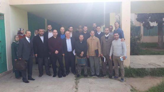 أساتذة التربية الإسلامية بالقصر الكبير يقاطعون ندوة تربوية تنديدا بقمع الأساتذة