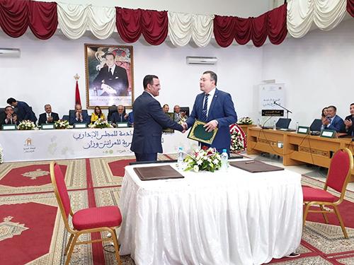 توقيع اتفاقية تعاون و شراكة بين الوكالة الحضرية للعرائش-وزان و الكلية المتعددة التخصصات بالعرائش