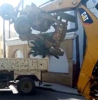 """القصر الكبير : السلطات تستمر في  """" حربها """" على العربات المجرورة ـ فيديو ـ"""