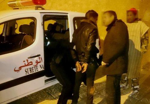 توقيف شخص و حجز كيلوغرام من المخدرات في مداهمة لمنزل بحي القشاشين