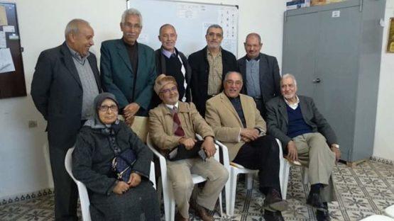 بعد استقالة الاستاذ بنشريف ، الاستاذ نويوار يخلفه على رأس جمعية  المسنين والمتقاعدين