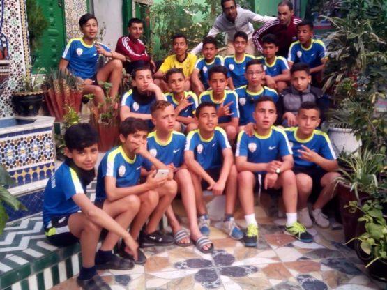 الأشبال القصري يواجه فريق أكاديمية سان جيرمان في أولى مباريات كأس طنجة الدولي