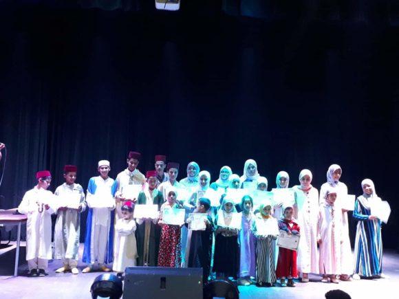 جمعية الوفاء تختتم فعاليات المسابقة الخامسة لتجويد القرآن الكريم
