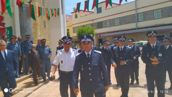 في الذكرى 63 لتأسيس الأمن الوطني ، مفوضية القصر الكبير والإنتاج المشترك للأمن
