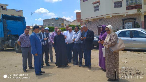 من أجل تصنيف التراث التاريخي المحلي : وفد رفيع المستوى من وزارة الثقافة في زيارة ميدانية للقصر الكبير