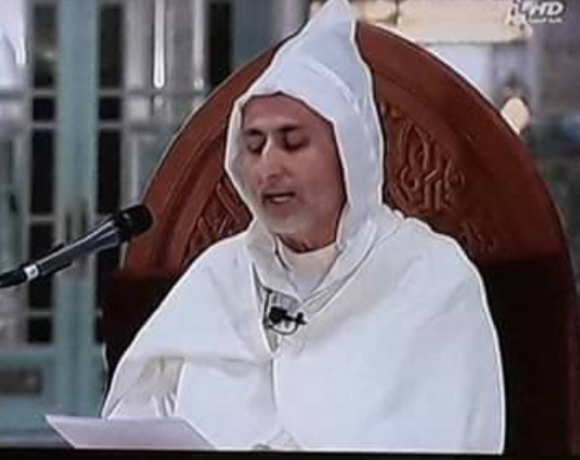 الدكتور محمد بنكيران يلقي درسا دينيا بين يدي جلالة الملك