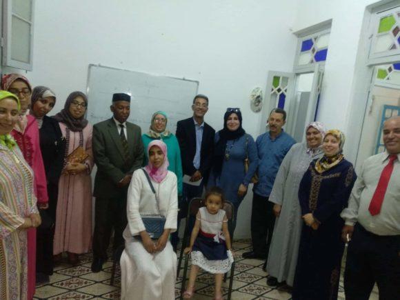 جمعية المشكاة للتنمية : إفطار جماعي وجلسة عمل
