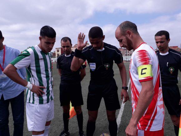 النادي الرياضي القصري ينهي صراع الصعود  لصالحه أمام جماهير حاشدة