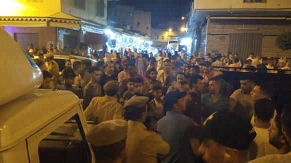 احتجاج الفراشة على حملة تمشيطية للسلطات المحلية