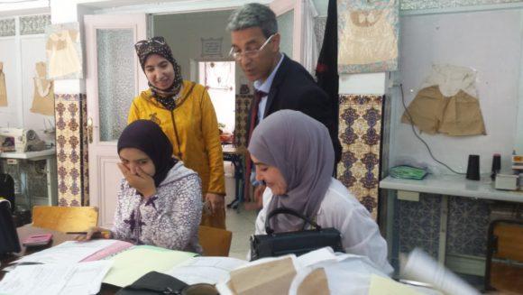 إقليم العرائش : انطلاق امتحانات التخرج لنيل دبلوم التأهيل بمراكز التربية والتكوين التابعة للتعاون الوطني