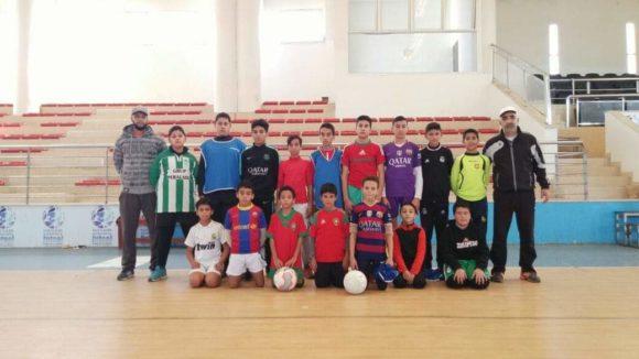 جمعية أشبال الزيتونة بالقصر الكبير تنظم دوريا لكرة القدم المصغرة