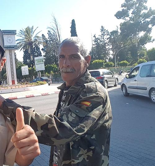 توقيف علال القادوس بعد شجار بالمرينة
