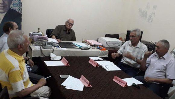 النادي المغربي بالقصر الكبير في اجتماع لمكتبه