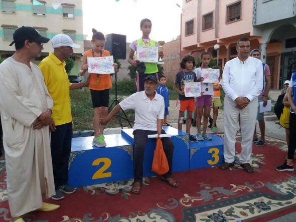 جمعية الوحدة لألعاب القوى تنظم تظاهرة رياضية ..