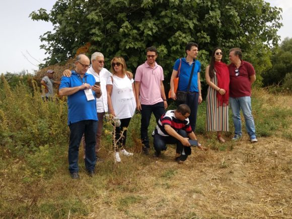المشاركون الأجانب في مهرجان سبعة شموس سبع أقمار يزورون أرض معركة وادي المخازن