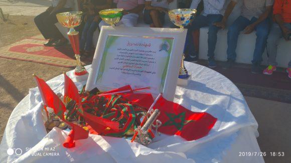 جمعية أشبال القصر الكبير لألعاب القوى تحتفي بالبطل المغربي حمزة الساهلي