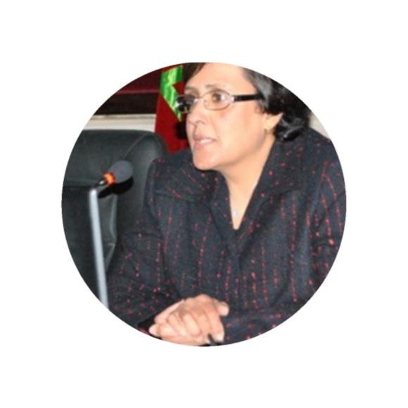 السيدة سلمى الطود ممثلة لجهة طنجة تطوان الحسيمة بالمجلس الوطني لحقوق الانسان .