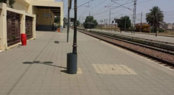 بعد رشق القطارات بالحجارة , سلطات القصر الكبير تقوم بحملة تمشيطية في السكة  الحديدية