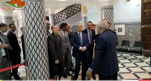 وفد وزاري يتفقد  محكمة القصر الكبير ويؤدي صلاة الجمعة بالمسجد الأعظم