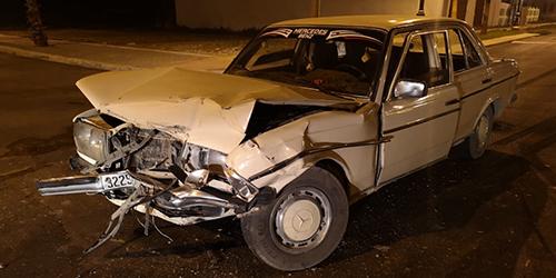 حادثة سير خطيرة بطريق العرائش تخلف خسائر مادية جسيمة