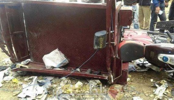 أربع إصابات في حادثة سير أمام مقهى الشارقة