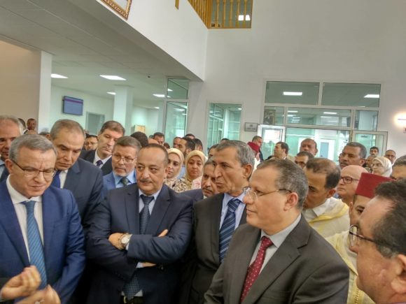 الافتتاح الرسمي لقسم قضاء الاسرة بالقصر الكبير بحضور وزيري العدل والثقافة وعامل الاقليم