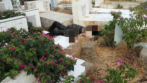 عاجل : العثور على جثة متعفنة بمقبرة مولاي علي بوغالب