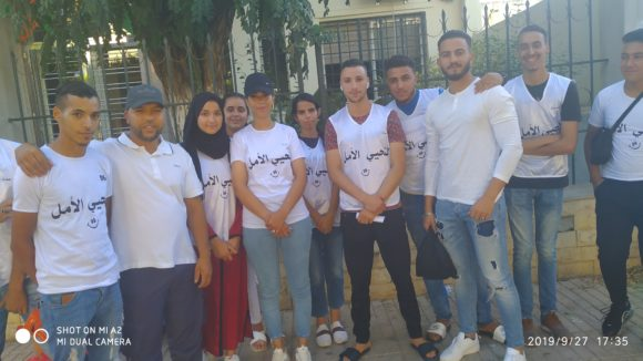 لنحيي الأمل : مبادرة شابة طموحة