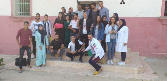 نادي Hopes club is our family في زيارة لدار المسنين بالقصر الكبير