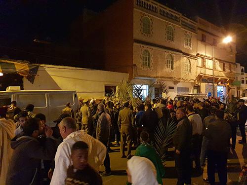 السلطات المحلية تمنع موكب الشموع للعدل و الإحسان بالقصر الكبير