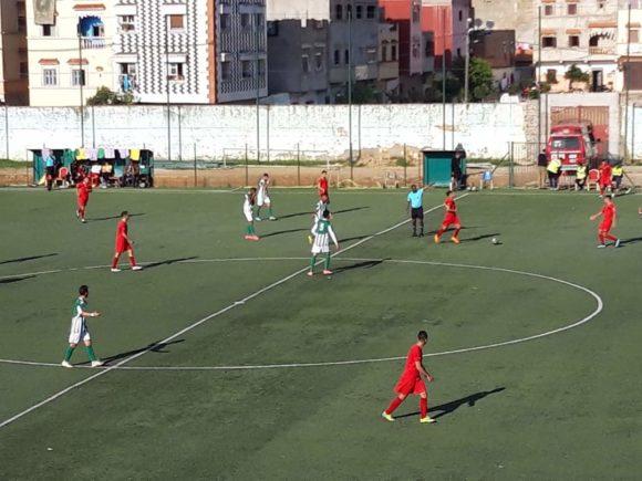 النادي القصري ينفجر في وجه قدس تازة ب6  اهداف
