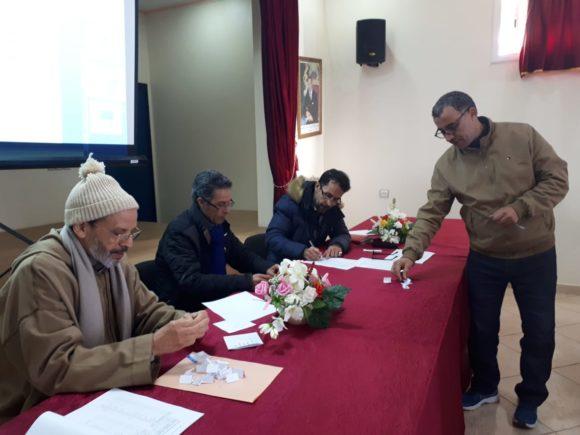 المجلس العلمي المحلي و المديرية الاقليمية في لقاء تواصلي حول المسابقة الكبرى بين الإعداديات