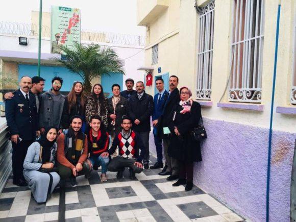المركز الثقافي والمؤسسة السجنية بالقصر الكبير في لقاء ثقافي تواصلي