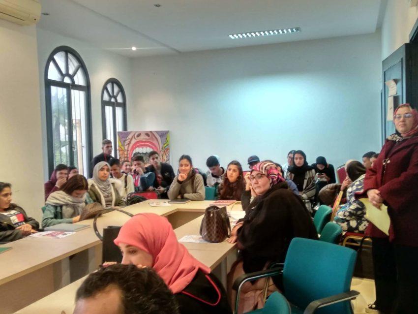 """جمعية المستقبل للتنمية الثقافية والإجتماعية والمحافظة على البيئة وندوة :""""الشباب شريك في مناهضة العنف ضد النساء والفتيات"""