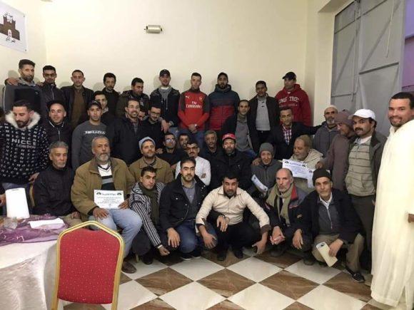 """افتتاح مقر جمعية """" النور """" لحرفيي الماء والكهرباء"""