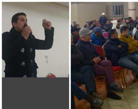 انتخاب طارق الجعادي رئيسا لمنسقية هيئات ونقابات الطاكسي الصغير بالقصر الكبير