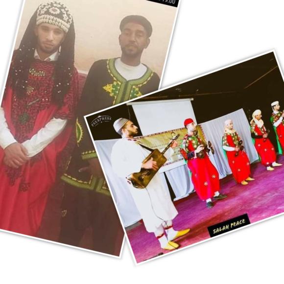 تأهل الكناوي القصري مصطفى ابن الروين الى نهائي مسابقة وطنية