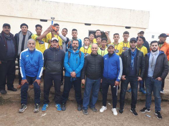 الطبري الإعدادية تتوج بالبطولة المحلية لكرة القدم بعد فوزها على الإمام مسلم