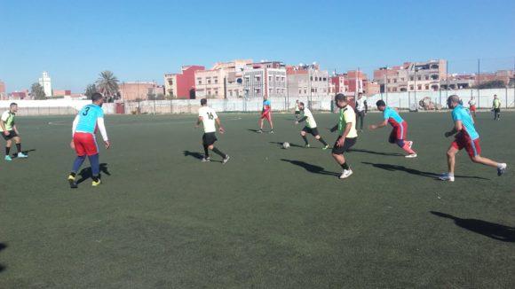 ذكرى 11 يناير : مباراة ودية بين الجمعية الرياضية للبلدية وفريق وكالة الماء والكهرباء