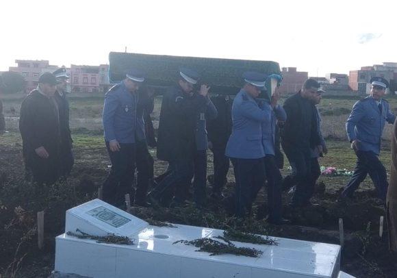 فيالق جمركية في تشييع جثمان والدة الكولونيل البطاني