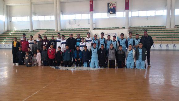 لكوس القصر الكبير لكرة السلة في مقابلتين وديتين مع الاتحاد الرياضي العرائشي