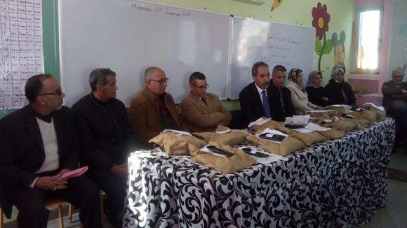 جمعية تنمية التعاون المدرسي:  توزيع نظارات طبية للمتعلمين