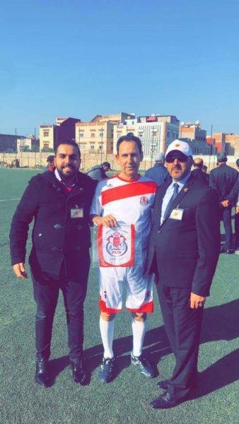 المهرجان الرياضي  الاول للهيئة المغربية للشباب الملكي عبر العالم