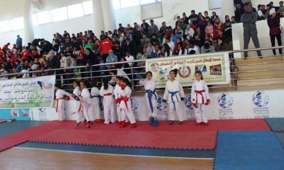 القاعة المغطاة محمد الصادق الشاوي تحتضن البطولة الشطرية للكراطي تباري