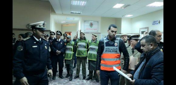 توقيف 70 فردا منهم 15 محل مذكرات بحث وطنية من طرف الأمن بالقصر الكبير