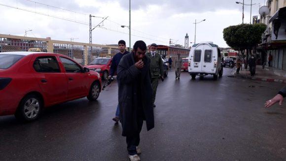 السلطات المحلية تباشر عملية جمع المتشردين